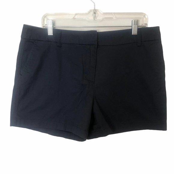 Cambridge Dry Goods Shorts blue flat front 12 NEW